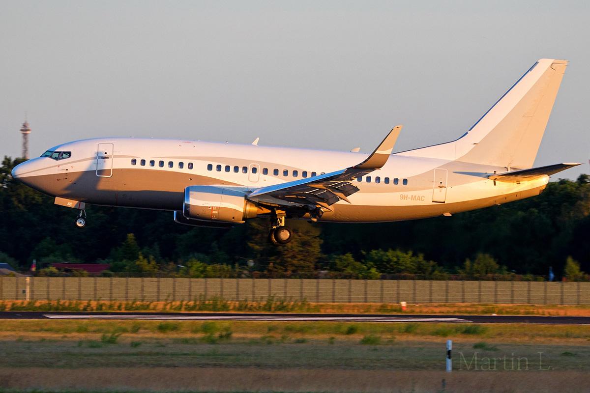 Maleth-Aero Boeing 737-500(WL) 9H-MAC