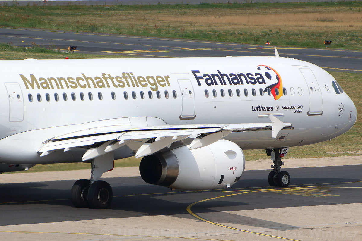 Lufthansa Airbus A321-200 D-AISQ