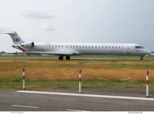 SAS Scandinavian Airlines, Bombardier CRJ1000 EC-MLC (TXL 3.6. 2018)