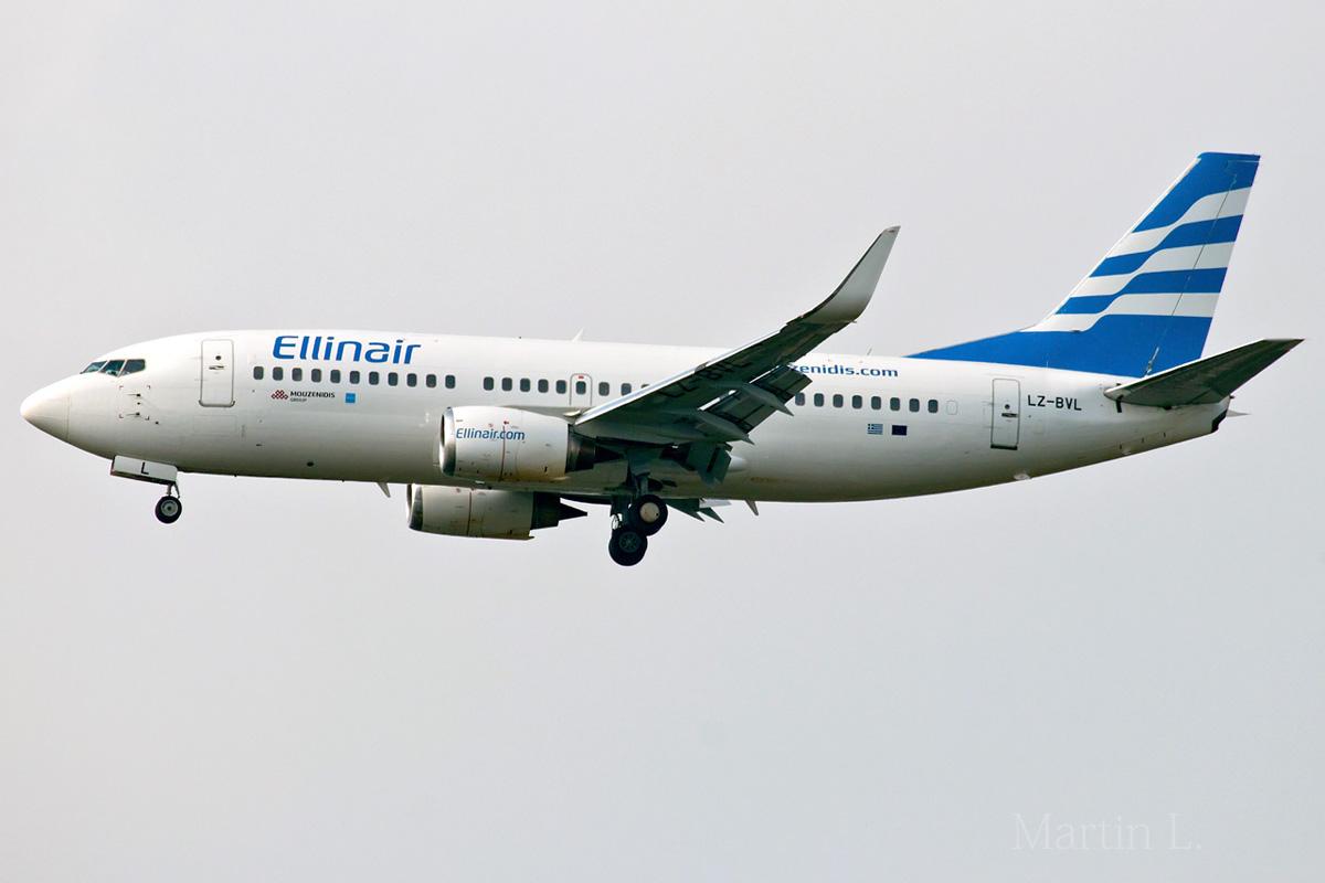 Ellinair Boeing 737-300(WL) LZ-BVL