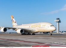 Etihad Airways, Airbus A380-800 A6-APC (SXF 13.7. 2018)