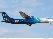 Nordica, ATR72-600 ES-ATB (TXL 8.7. 2018)