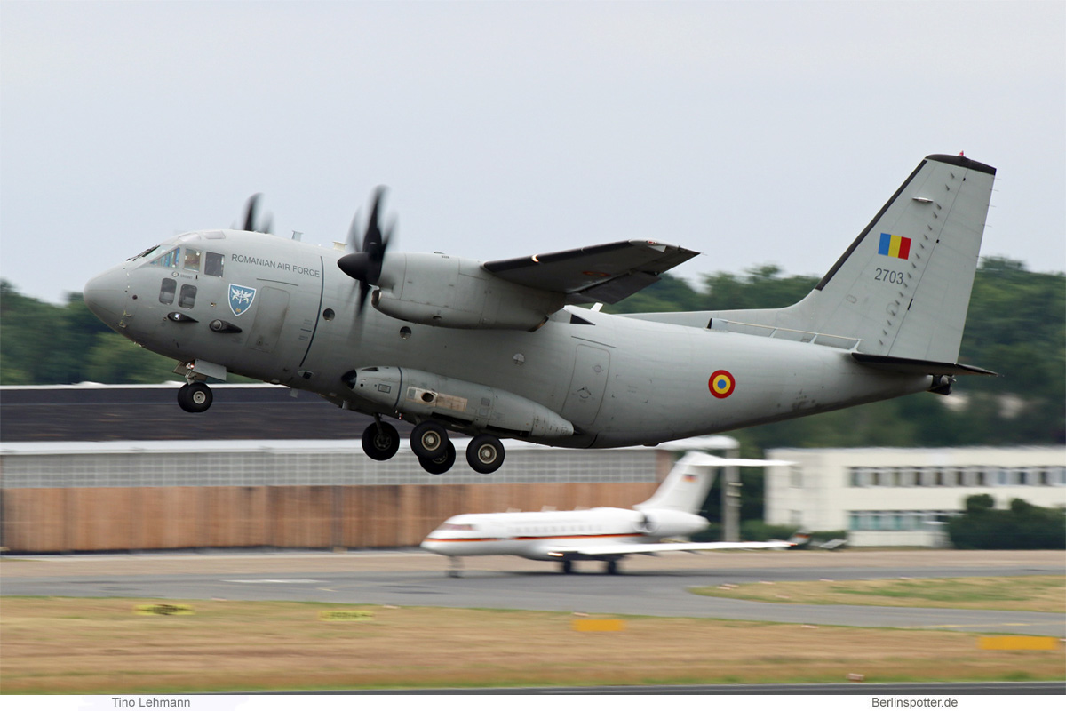 Romanian Air Force Alenia C-27 Spartan 2703
