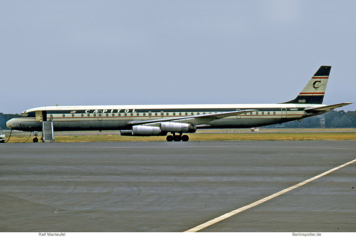 Capitol International Airways Douglas DC-8-63CF N4910C