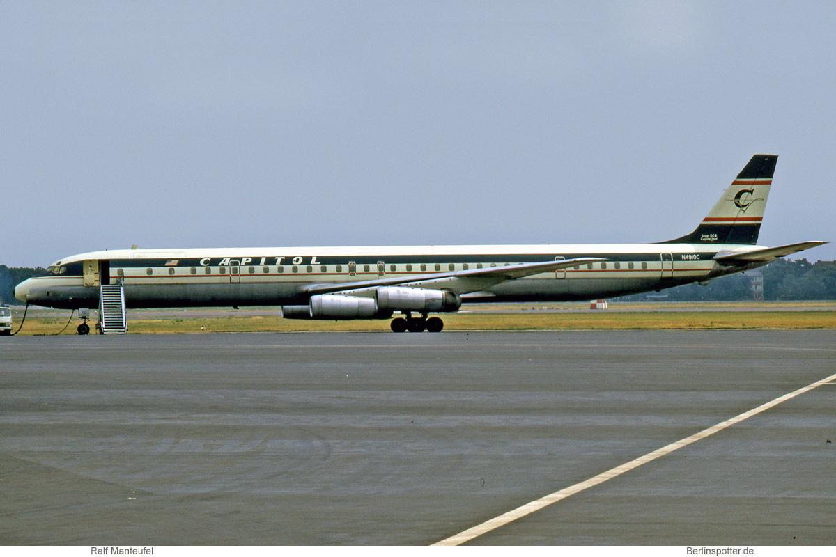 Capitol International Airways Douglas DC-8-63CF N4910C