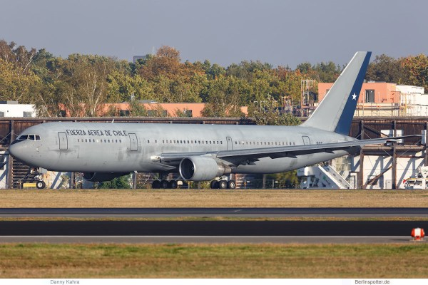 Chile Air Force, Boeing 767-300ER '985' (TXL 11.10.2018)