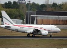 Global Jet Luxembourg, Airbus A318 Elite LX-LTI (TXL 29.10.2018)