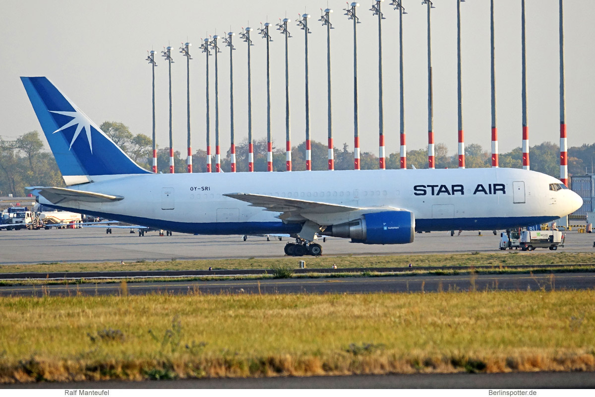 Star Air Boeing 767-200 (BDSF) OY-SRI