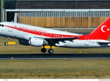 Turkish Gvmt., Airbus A319CJ TC-ANA (TXL 29.9.2018)