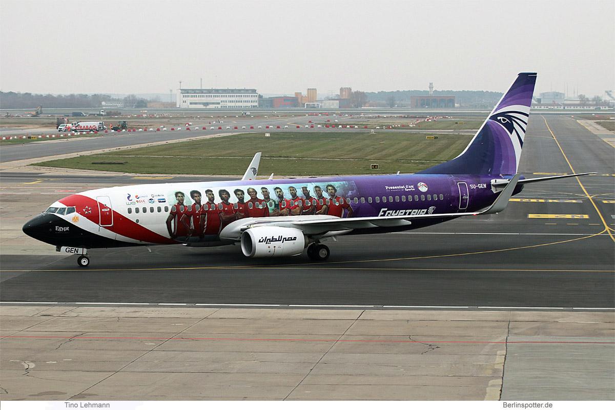 EgyptAir Boeing 737-800(WL) SU-GEN