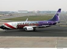 Egypt Air, Boeing 737-800(WL) SU-GEN, Egyptian National Football Team-Bemalung (SXF 22.11.2018)