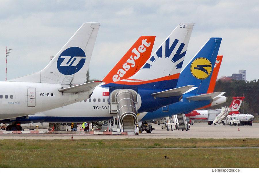 Berliner Flughäfen wachsen wieder