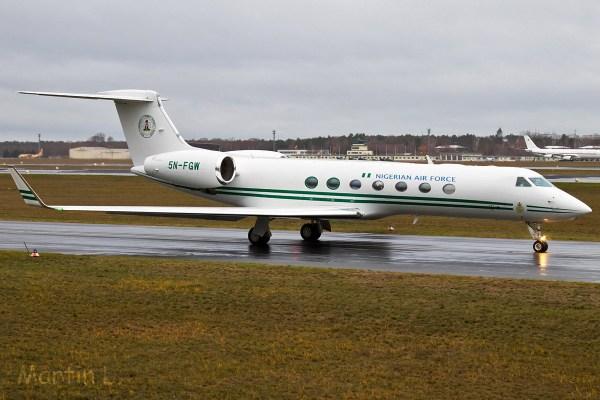 Nigerian Air Force, Gulfstream V 5N-FGW (TXL 11.12.2018)