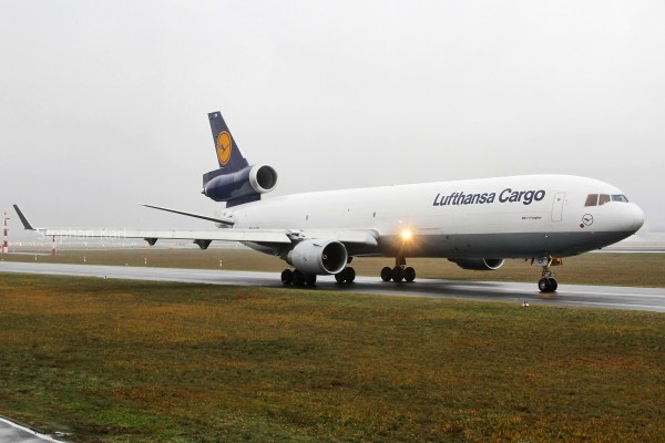 Lufthansa Cargo, McDonnell-Douglas MD-11F D-ALCK (TXL 26.12.2018)