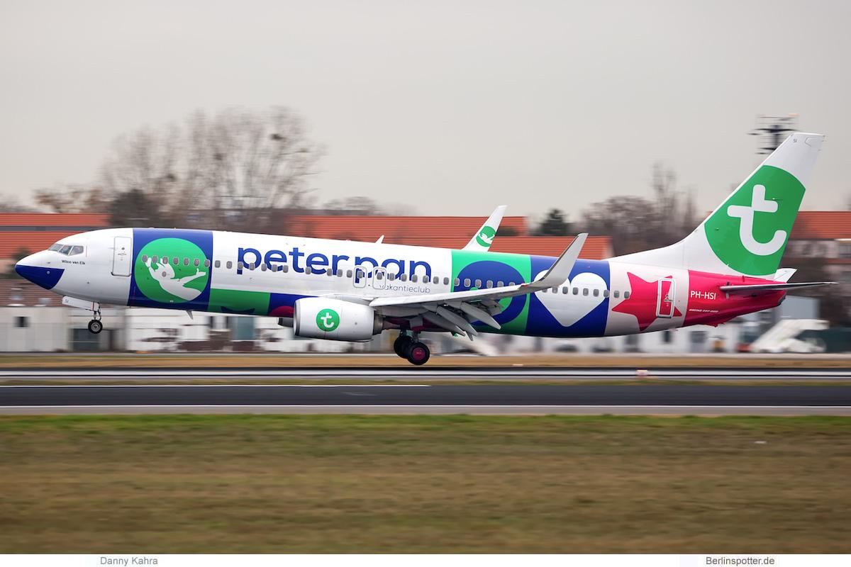 Transavia Boeing 737-800(WL) PH-HSI