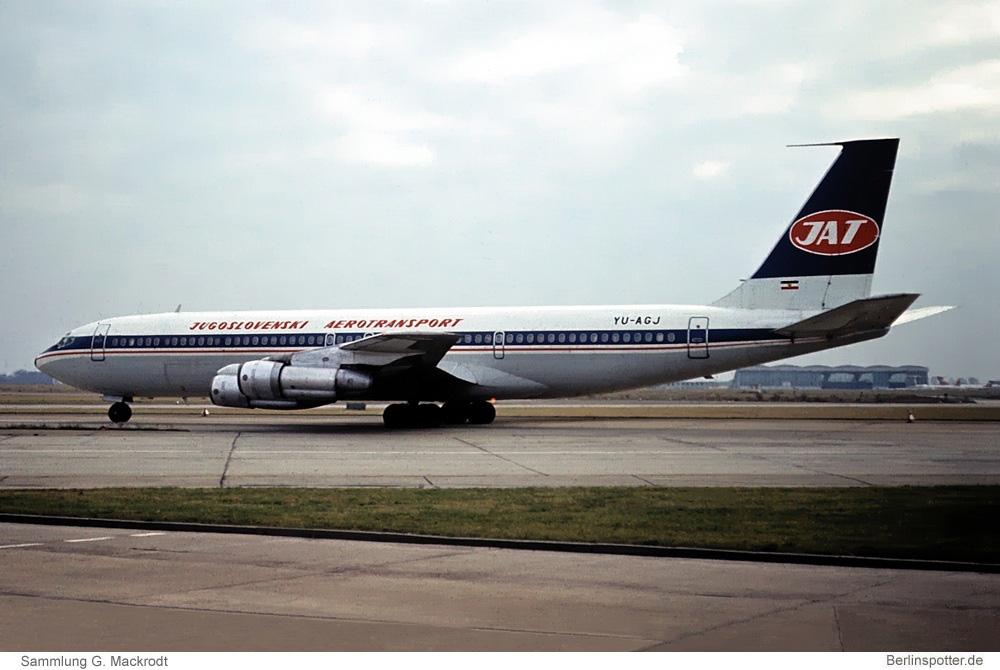 JAT Yugoslav Airlines Boeing 707-351C YU-AGJ
