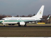 Nigerian Air Force Boeing 737-700(BBJ) 5N-FGT (TXL 28.1.2018)