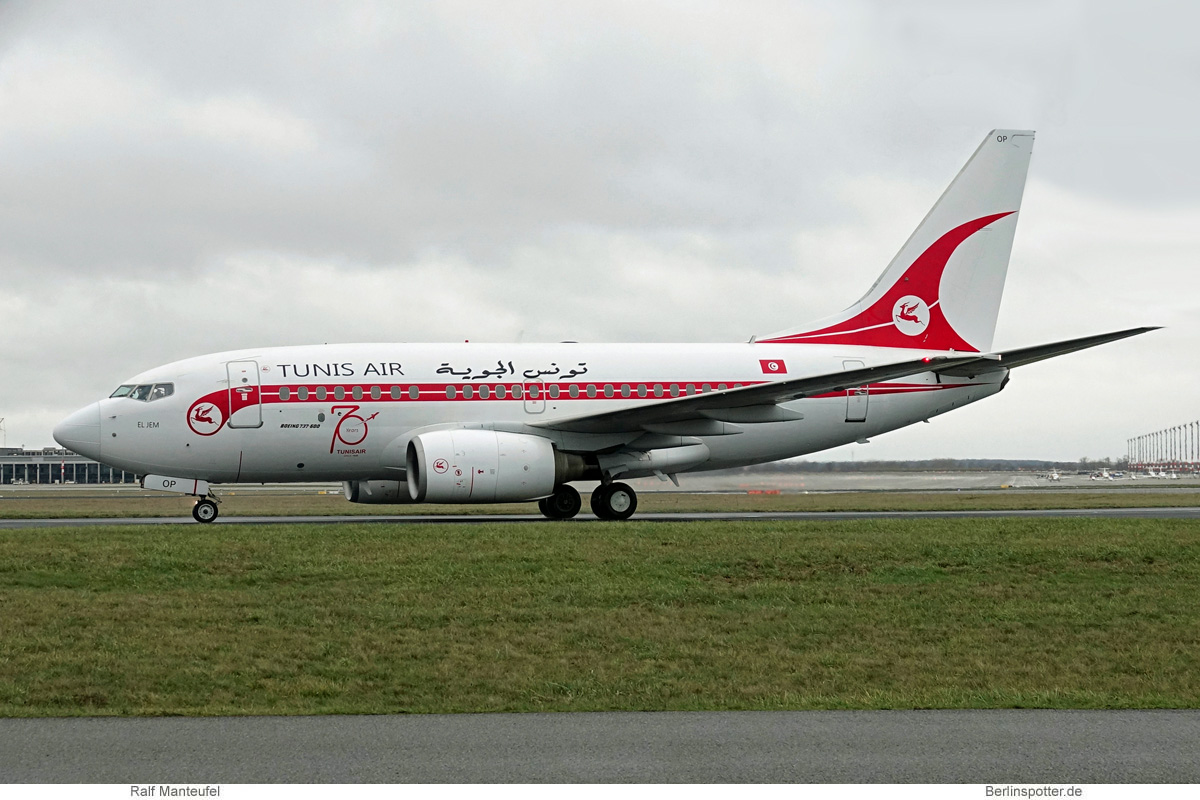 Tunis Air Boeing 737-600 TS-IOP
