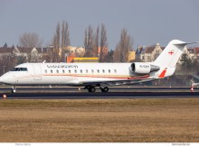 Airzena Georgian Airways, Bombardier Challenger 850 4L-GAA (TXL 21.2.2019)