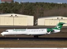 Turkmenistan Airlines, Bombardier Challenger 870 EZ-B024 (TXL 11.2.2019)