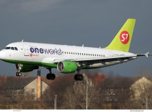 S7 Airlines Airbus A319-100 VP-BTN (TXL 8.2.2019)