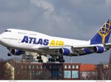 Atlas Air, Boeing 747-400 N465MC (TXL 19.3.2019)