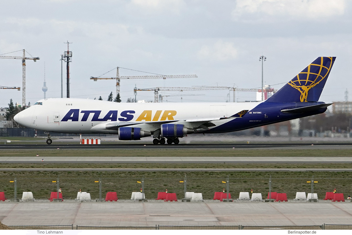 Atlas Air Boeing 747-400F N475MC
