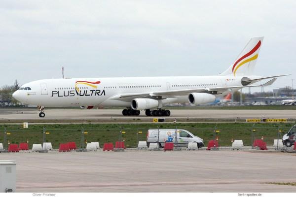 Plus Ultra Airbus A340-300 EC-MFA (SXF 12.4.2019)