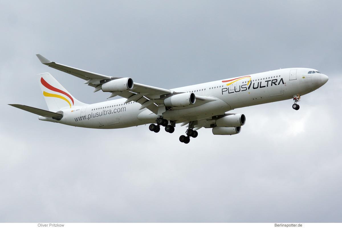 Plus Ultra Airbus A340-300 EC-MFA/B
