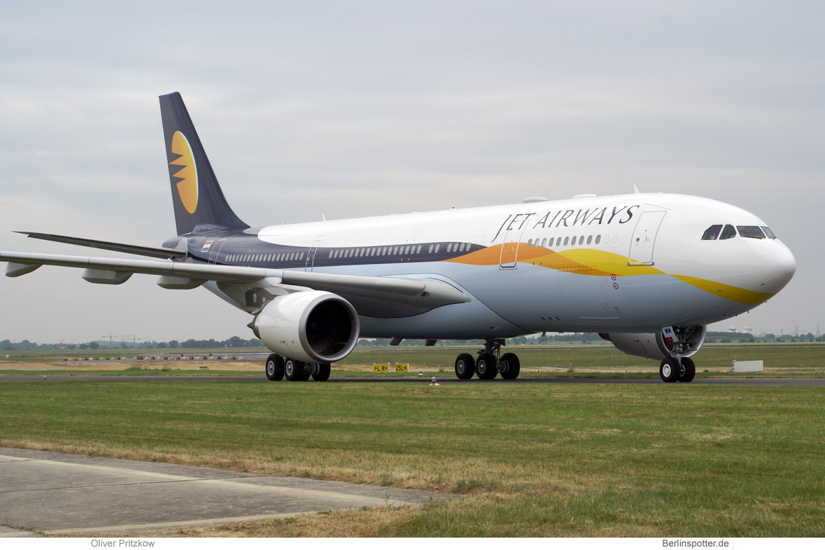 Jet Airways Airbus A330-200 F-WWYZ