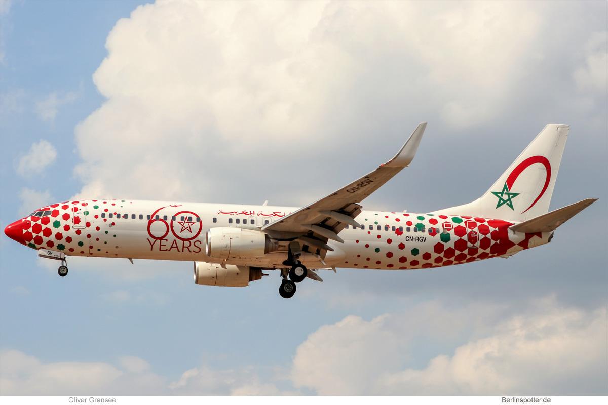 Royal Air Maroc Boeing 737-800(WL) CN-RGV