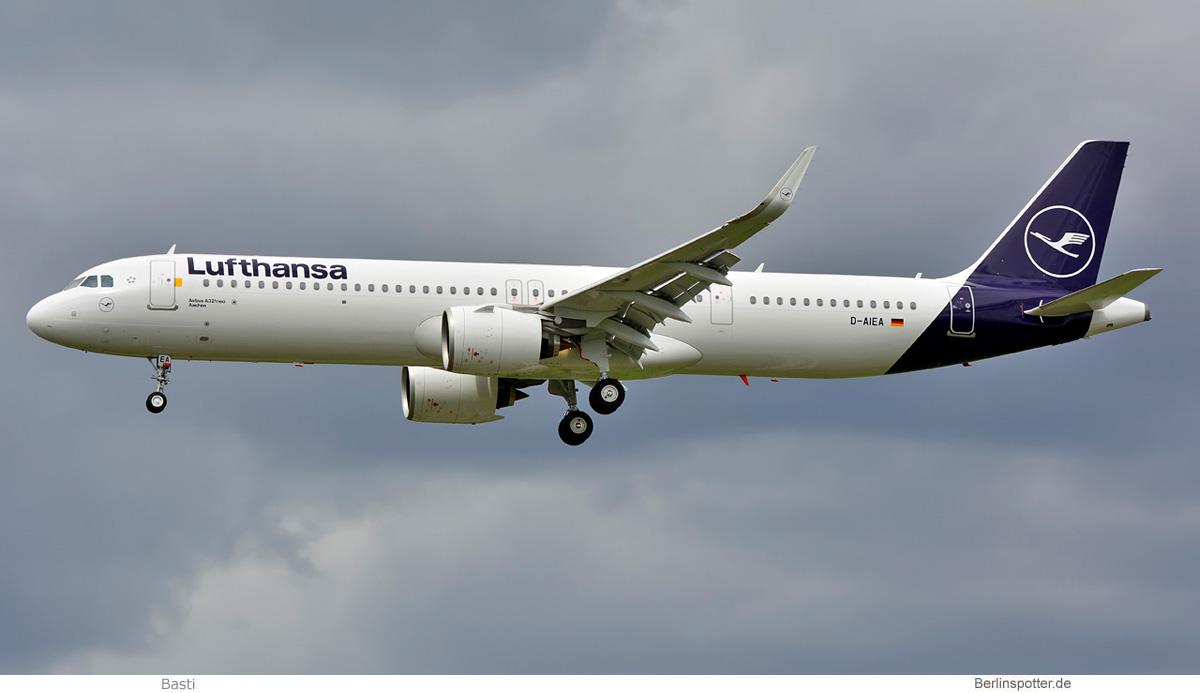 Lufthansa Airbus A321neo D-AIEA