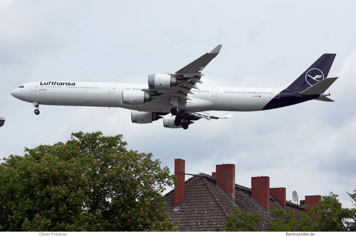 Lufthansa Airbus A340-600 D-AIHI