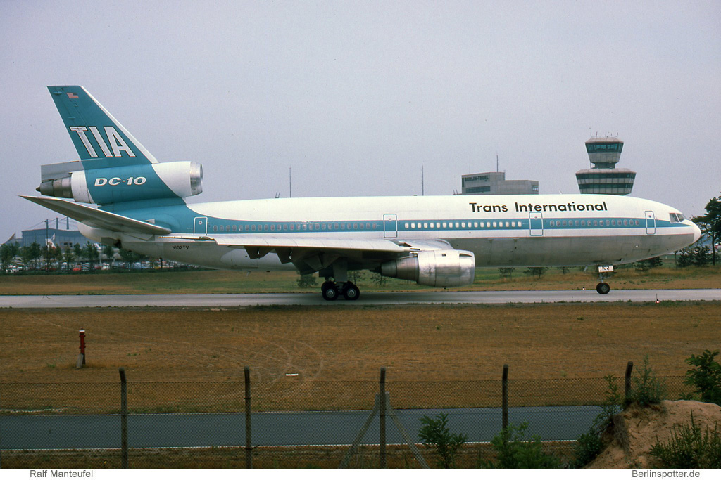 Trans International Airlines McDonnell-Douglas DC-10-30(CF) N102TV