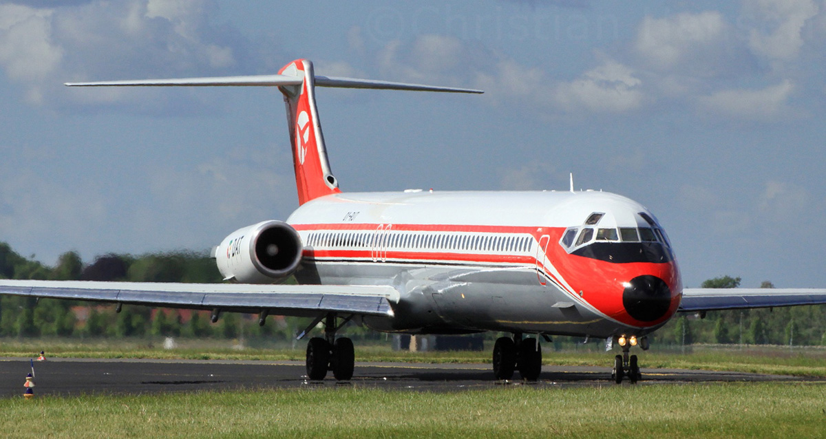 DAT Danish Air Transport McDonnell-Douglas MD-82 OY-RUT