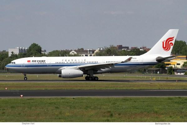 Air China Airbus A330-200 B-6130 (TXL 1.6.2019)