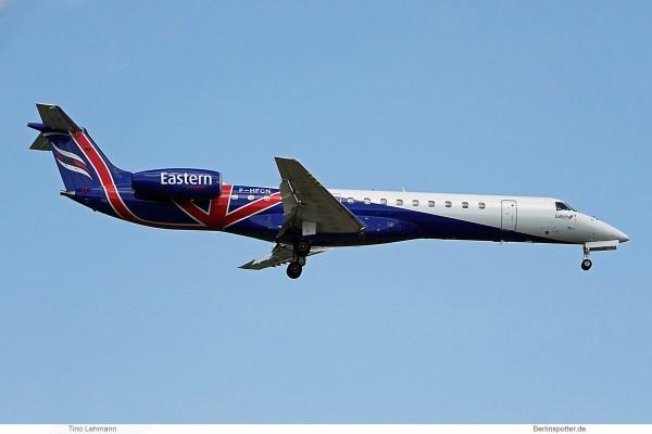 VallJet, Embraer 145 F-HFCN (SXF 18.7.2019)