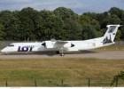 LOT Polish Airlines, Bombardier Q400 SP-EQK, 100 Jahre Aeroklub Polen (TXL 14.7.2019)