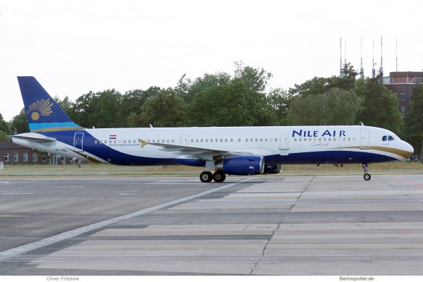 Nile Air, Airbus A321-200 SU-BQL (SXF 2.7.2019)
