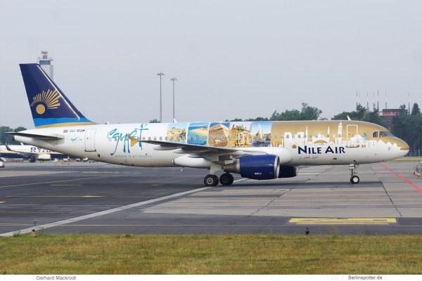 Nile Air, Airbus A320-200 SU-BQM (SXF 13.7.2019)