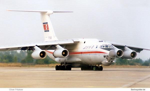 Air Koryo, Ilyushin 76MD P-914 (SXF 08/1997)
