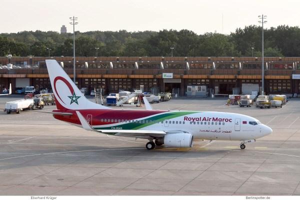 Royal Air Maroc, Boeing 737-700(WL) CN-RNR (TXL 30.8.2019)