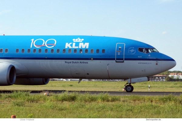 KLM Royal Dutch Airlines, Boeing 737-800(WL) PH-BXK (TXL 4.9.2019)
