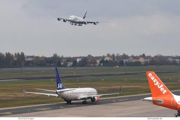 Emirates, Airbus A380 F-WWSD/A6-EVK (TXL 7.11.2019)