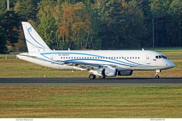 Gazpromavia, Sukhoi SuperJet 100 RA-89054 (TXL 31.10.2019)