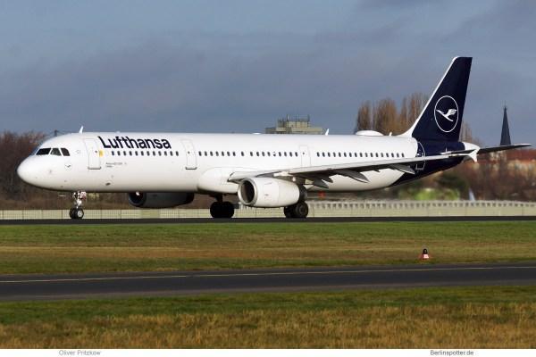 Lufthansa, Airbus A321-200 D-AISQ (TXL 30.11.2019)