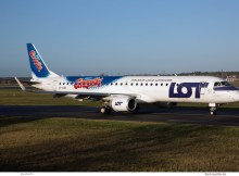 LOT Polish Airlines, Embraer 195LR SP-LNB, Grześki-Bemalung (TXL 10.12.2019)