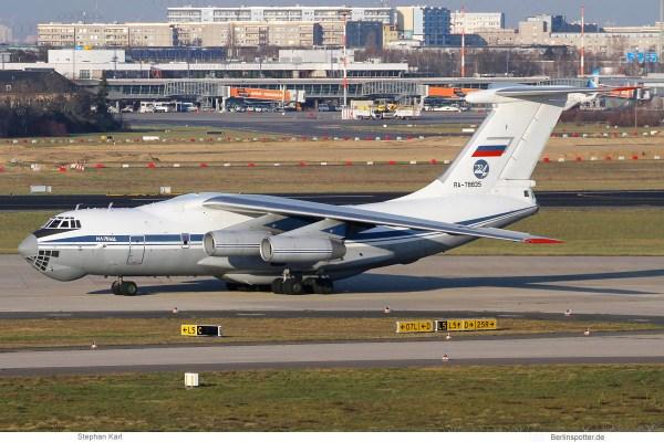 Russland, Ilyushin Il-76MD RA-78835 (SXF 17.1.2020)