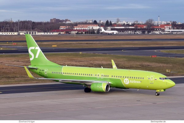 S7 Airlines, Boeing 737-800 (WL) VP-BND (TXL 14.1.2020)