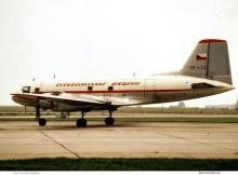 CSA Ceskoslovenske Aerolinie, Avia Av-14 T (Il-14) OK-LCA (SXF 1977)